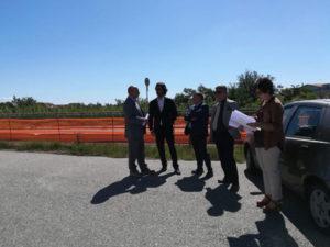 Viabilità: sopralluogo tecnico sulla S.S.106 con Anas e Sindaci