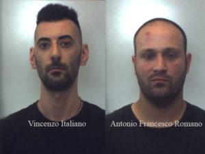 Due giovani sorpresi a rubare in una casa, arrestati nel Reggino