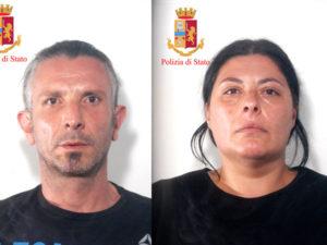 Droga: spaccio a Palmi, coniugi arrestati dalla polizia