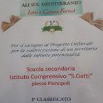 """Lamezia: Ic """"don Saverio Gatti"""" conquista 1° premio gran gala' della cultura"""