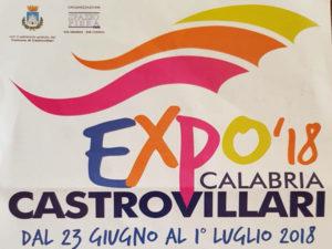 Castrovillari: in programma dal 23 giugno Expo 2018