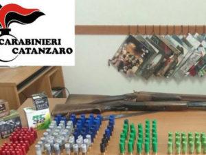 Armi: 50enne catanzarese incensurato arrestato dai Carabinieri