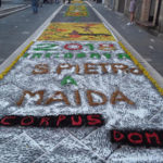 Infiorata Corpus Domini incanta Comunità San Pietro a Maida