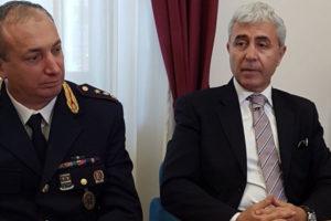 """Polizia: nuovo questore a Crotone, """"facciamo squadra"""""""