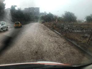 Maltempo: forti piogge in Calabria, danni nel Vibonese