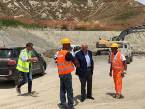 Infrastrutture: Oliverio visita cantiere metro Catanzaro