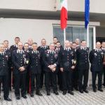 Carabinieri Generale Robusto in visita compagnia Soveria Mannelli