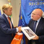 Regione: visita ambasciatore Wijnands, parte sinergia con Olanda