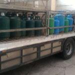 Deposito clandestino bombole gas sequestrato da Polizia a Crotone