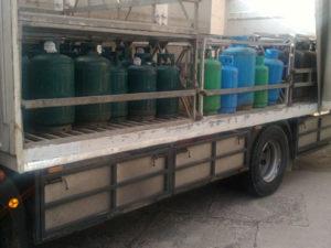 Sequestrati 650 kg di gpl nel Cosentino