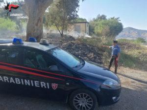 Incendi: appicca fuoco pendici  collina: arrestato piromane