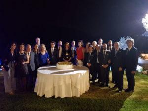 Rotary club Catanzaro: celebrato lo scambio delle consegne