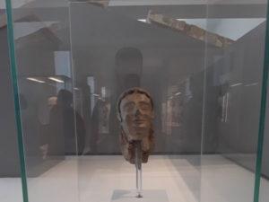 Musei: Testa della Sfinge della Passoliera all'antica Kaulon