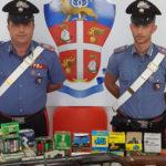 Armi e munizioni, due persone denunciate nel Cosentino