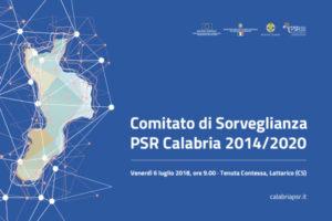 Regione: Lavori comitato sorveglianza Psr Calabria 2014/2020