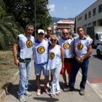 Lamezia: Azione Identitaria ripulisce l'area verde di piazza Botticelli