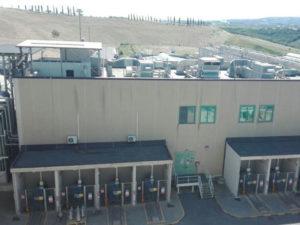 Report qualità aria comprensorio centrale Edison di Altomonte