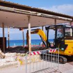 Comune Reggio: avviata demolizione manufatto abusivo a Gallico