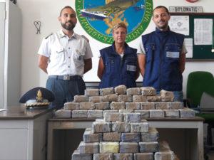 Droga: 50 kg di eroina sequestrati in Porto Trieste