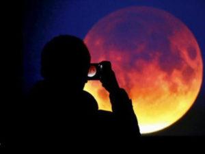 Falerna: percorso trekking durante eclissi lunare più lunga del secolo