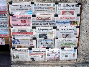 Agcom: crisi giornali, in gioco valore strategico informazione