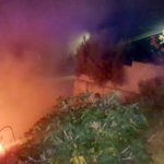Incendi: a fuoco sterpaglie in via Orsi di Catanzaro