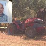 Lamezia: trattore si ribalta, muore 49enne