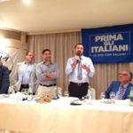 Lega: Matteo Salvini incontra i leghisti calabresi a Santa Trada