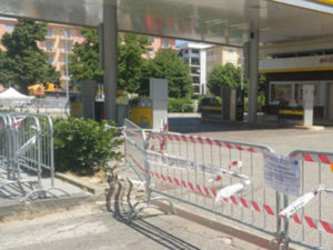 Ambiente: sequestrato distributore carburanti in centro Cosenza