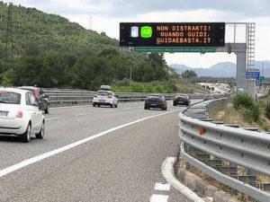 Anas: firmato contratto da 20 mln per avvio smart road su A2