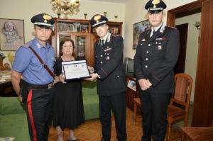 Carabinieri: una targa in memoria del Maresciallo Mirarchi