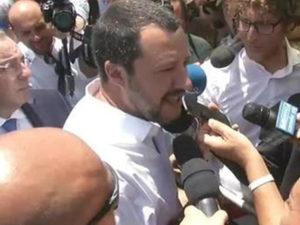 'Ndrangheta: Salvini, accetto critiche non accostamento a mafie
