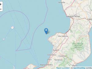 Terremoto: scossa magnitudo 4,4 al largo Calabria, nessun danno