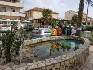 Catanzaro: Sindaco incontra cittadini che hanno ripristinato vasca