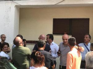 Cosenza, dopo il maltempo sopralluogo case Aterp San Vito