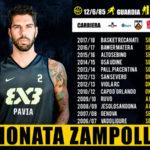 Pallacanestro: Basketball Lamezia ingaggia Gionata Zampolli