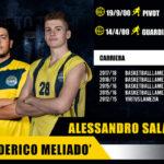 Pallacanestro: Basketball Lamezia Meliadò e Saladino in prima squadra
