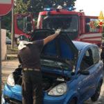 Lamezia: MicroCar 50 si ribalta in Via del Progresso, ferito conducente