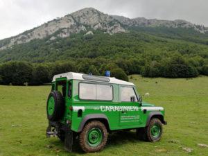 Escursionisti soccorsi nel Parco del Pollino dai carabinieri