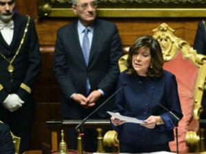 Senato: Casellati chiama omaggio Aula a giudice Scopelliti