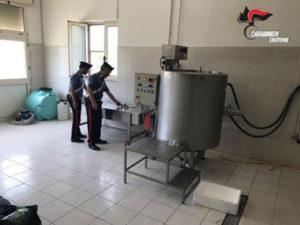Sicurezza alimentare: sequestrati 950 kg di formaggi nel Crotonese