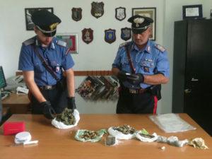 Droga: marijuana e hashish in casa arrestati due giovani