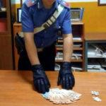 Sorpreso con 11 dosi di cocaina arrestato dai carabinieri