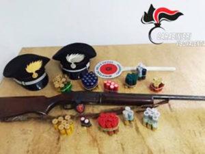 Armi e munizioni occultate, un arresto a Capistrano