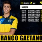 Pallacanestro: Basketball Lamezia conferma Franco Gaetano