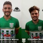 Vigor Lamezia Calcio 1919 tessera Marco Gentilesca e Andrea Cittadino