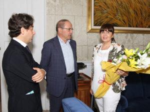 Provincia Cosenza: Presidente Iacucci riceve nuovo Questore
