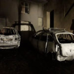 Due auto distrutte nella note da un incendio a Belcastro