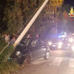Lamezia: incidente stradale in località Ginepri, tre feriti