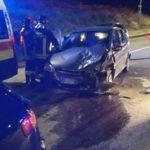 Incidenti stradali: scontro tra due auto a Catanzaro, tre feriti